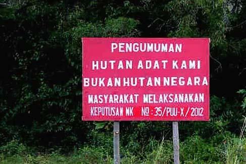 Tantangan Penetapan Hutan Adat Setelah Putusan MK 35