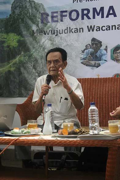 Gunawan Wiradi, The Living Legend Gerakan Agraria