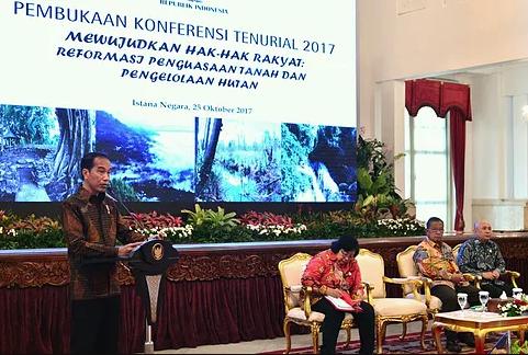 Jokowi : Reforma Agraria dan Perhutanan Sosial untuk Pemerataan Ekonomi