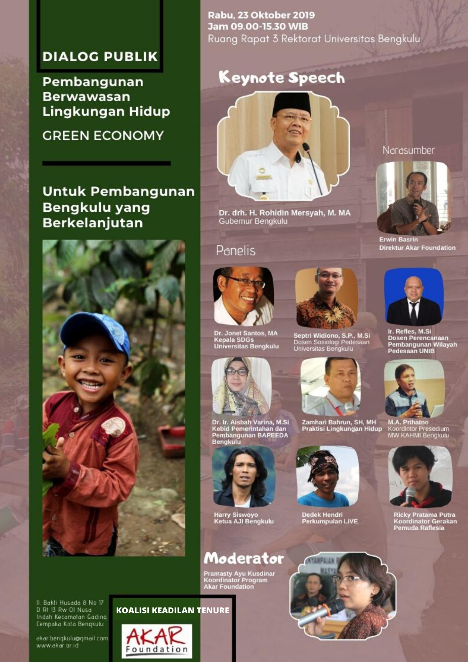 Pembangunan Ekonomi Hijau di Bengkulu