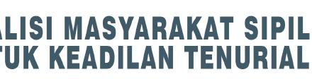 Dukungan Lapangan Koalisi Tenur 2021